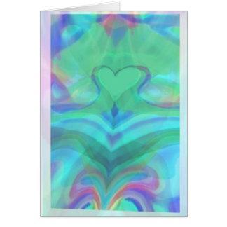 Cartão O coração é um milagre maravilhoso