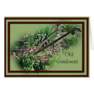 Cartão O cultivador do Echinacea cartão-personaliza toda