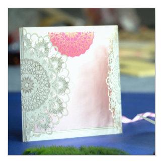 Cartão O design da mandala convida | IndianWeddingCards