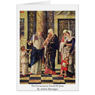 Cartão O detalhe de Circumsicion de Jesus