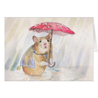 Cartão O dia chuvoso parte!   por Christina Siravo
