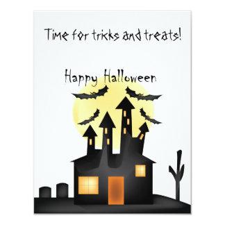 Cartão O Dia das Bruxas