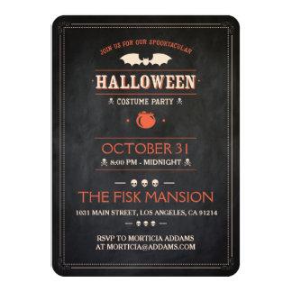 Cartão O Dia das Bruxas convida: Spooktacular -