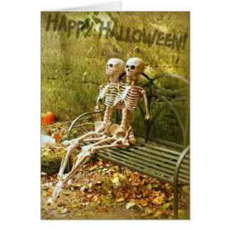 Cartão O Dia das Bruxas feliz!