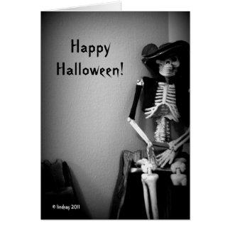 Cartão O Dia das Bruxas feliz por Lindsay