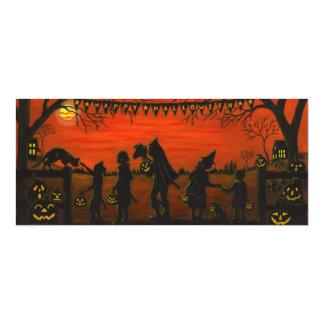Cartão O Dia das Bruxas, party.invitations, doçura ou