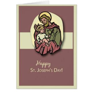 Cartão O dia de 3818 St Joseph