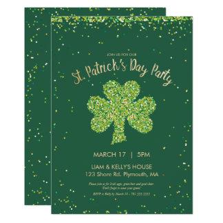 Cartão O dia de Patrick de santo (o dia da almofada do