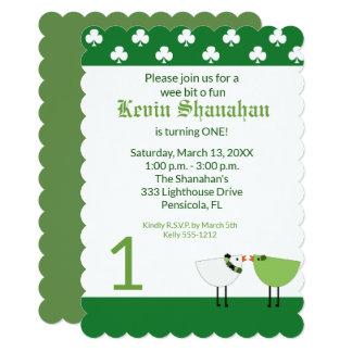 Cartão O dia de St Patrick todo o aniversário da idade