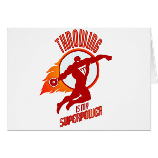 Cartão o disco de jogo é minha superpotência