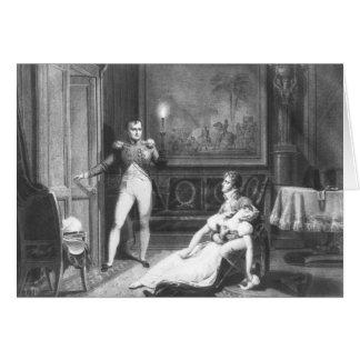 Cartão O divórcio de Napoleon mim