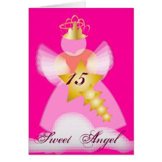 Cartão O doce Anjo-Personaliza