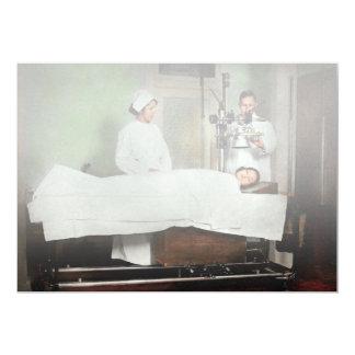 Cartão O doutor - raio X - que obtem minha cabeça
