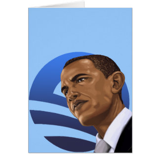 Cartão O é para Obama Barack Obama 2012