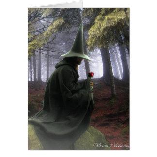 Cartão O feiticeiro