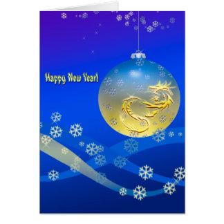 Cartão O feliz ano novo!