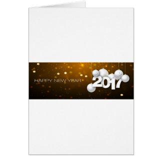 Cartão O feliz ano novo