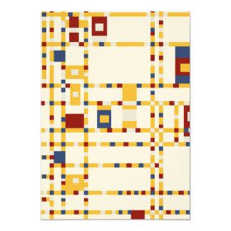 """Cartão O feltro Ecru 5"""" x 7"""", envelopes brancos padrão"""