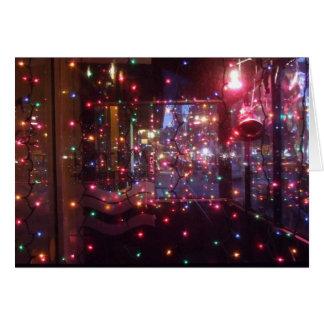 Cartão O feriado ilumina 5x7