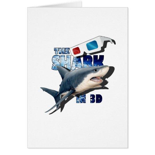 Cartão O filme do tubarão