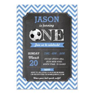 Cartão O futebol ostenta o partido o primeiro aniversario
