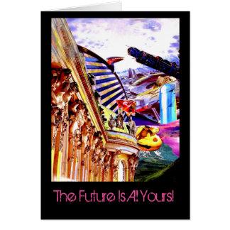 Cartão O futuro é todo o seu!