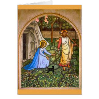 Cartão O gato de Yeshua: Gato do Fra Angelico