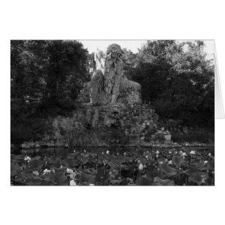 Cartão O gigante por Giambologna