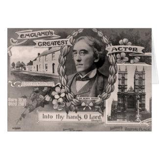Cartão O grande ator de Inglaterra