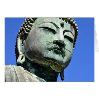 Cartão O grande Buddha: Kamakura, Japão