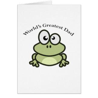 Cartão O grande pai do mundo