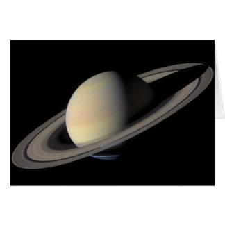 Cartão O grande retrato de Saturn