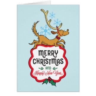Cartão O Grinch | máximo - o feliz ano novo