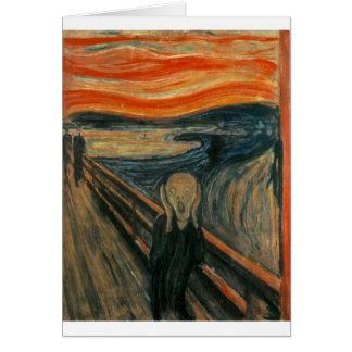 Cartão O gritar