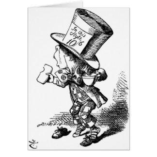 Cartão O Hatter louco
