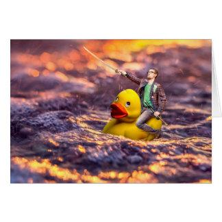 Cartão O herói de Quacken
