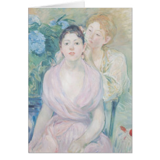 Cartão O Hortensia, ou as duas irmãs, 1894