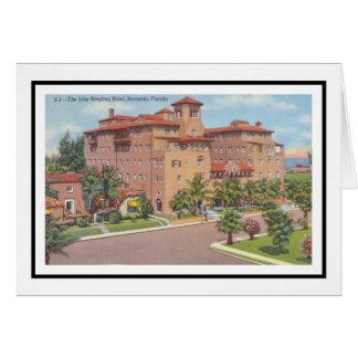 Cartão O hotel de John Ringling