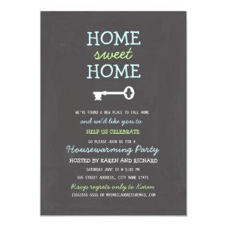 Cartão O Housewarming Home doce Home convida