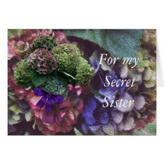 Cartão O Hydrangea 5414 - personalize toda a ocasião