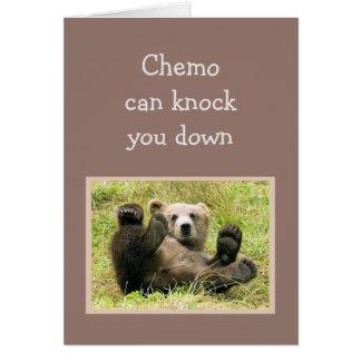Cartão O incentivo Chemo pode batê-lo para tragar