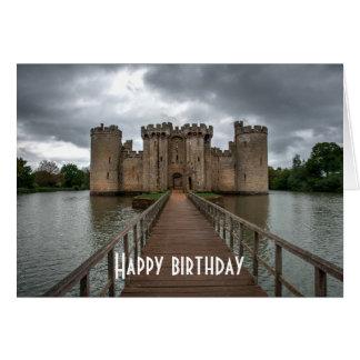 Cartão O inglês histórico fortifica o castelo Sussex de