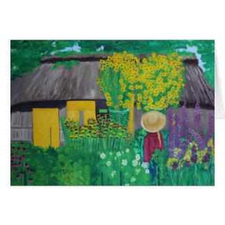 Cartão O jardim de Emil Nolde
