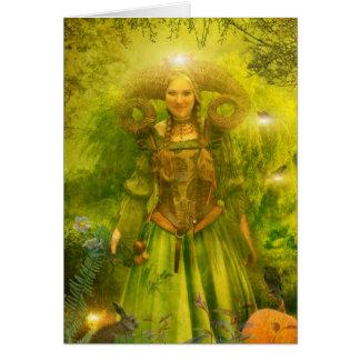 Cartão O jardim de Gaia