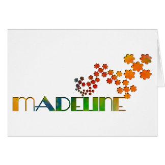 Cartão O jogo conhecido - Madeline