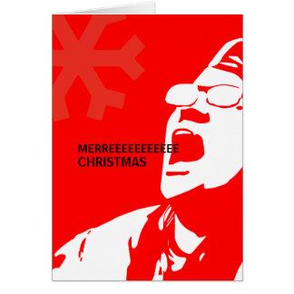 Cartão O liberal rasga o Natal de Merreeeee das minas de