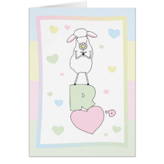 Cartão O Love>Cute Humor>Ewe do deus é amado