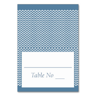 Cartão O lugar Tented da dobra de DIY carda o azul do mar