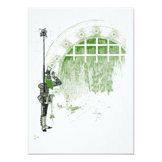Cartão O mágico de Oz maravilhoso