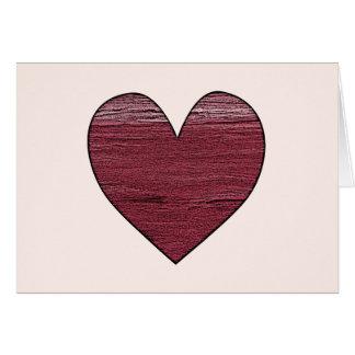Cartão O mar do coração